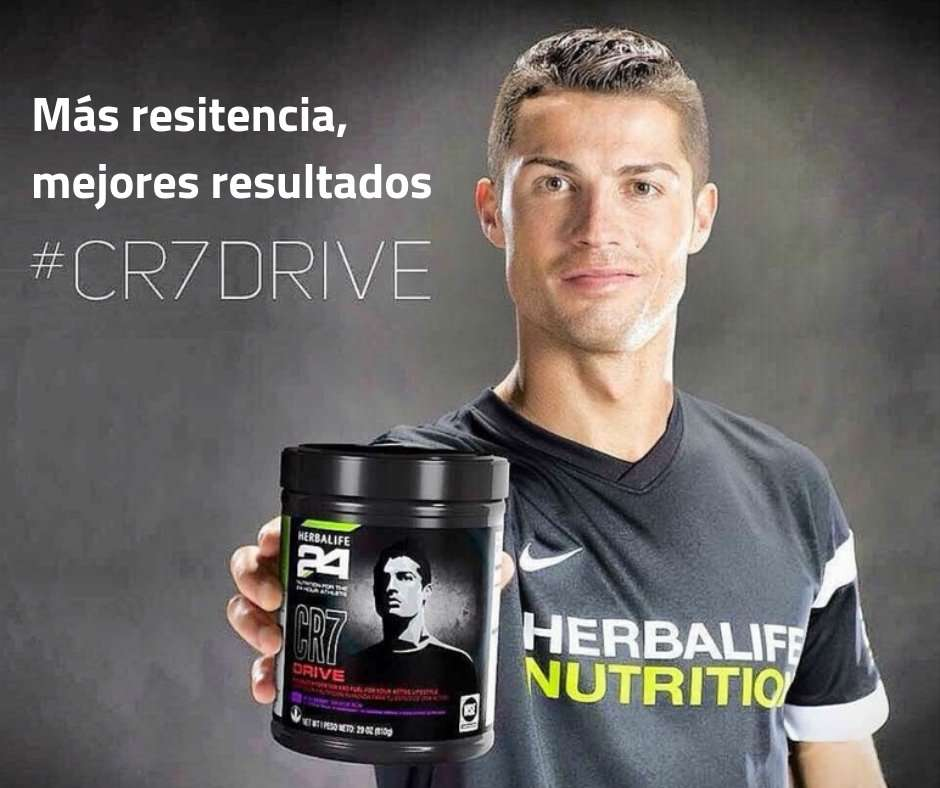 cristiano ronaldo cr7 herbalife