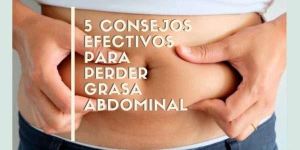 consejos perder grasa abdominal