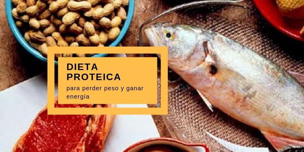 dieta proteica para bajar de peso