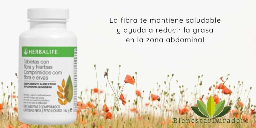 herbalife fibra bajar peso