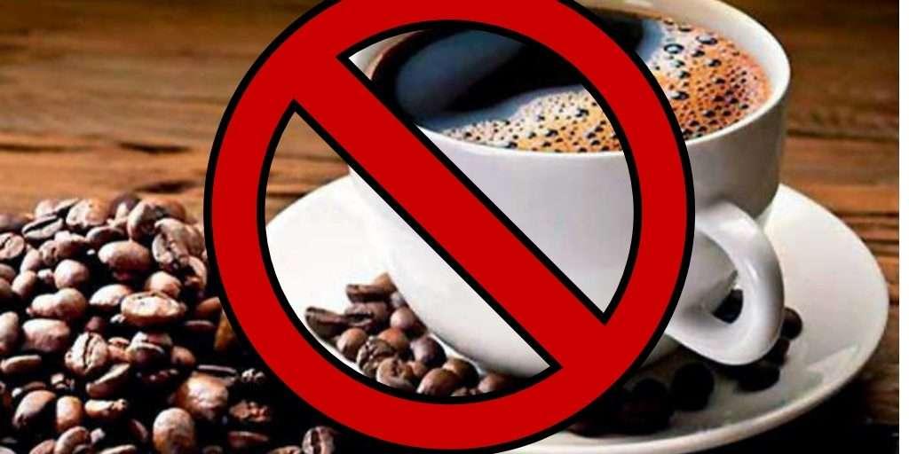 tomar menos cafe