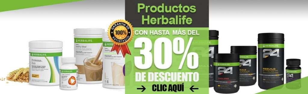 herbalife 30% descuento batido formula 1