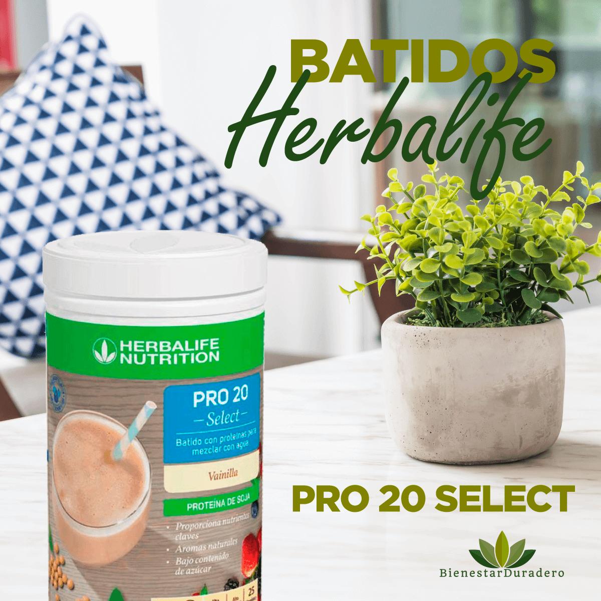 Batidos Herbalife con mayor aporte proteico
