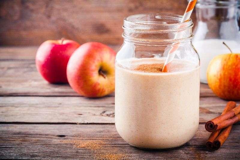 Batido Herbalife sin lactosa de Manzana con canela