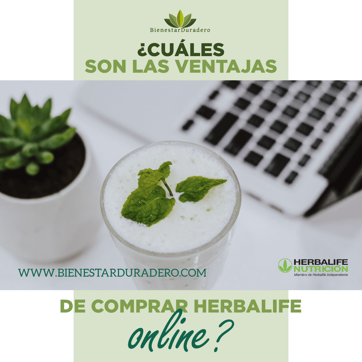 ¿Cuáles son las ventajas de comprar herbalife online?