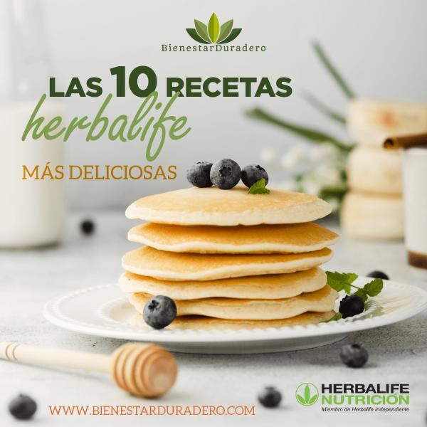 Las 10 recetas herbalife más deliciosas