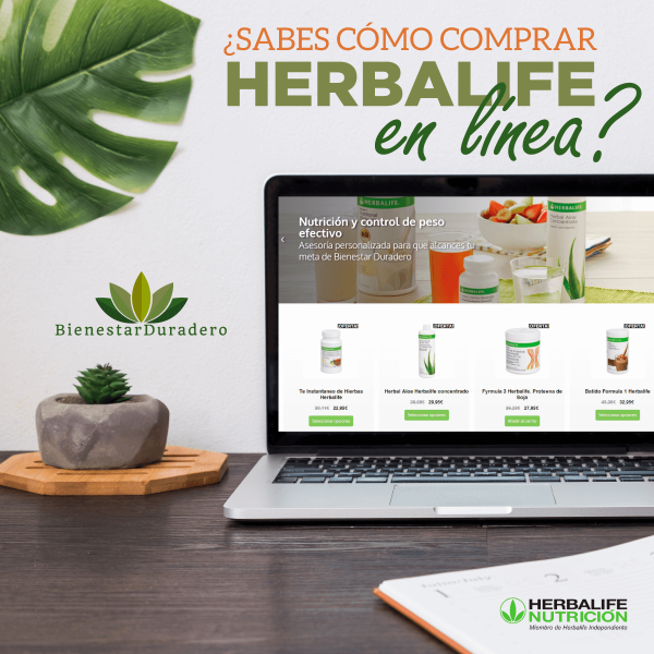 Aprende a comprar Herbalife en linea